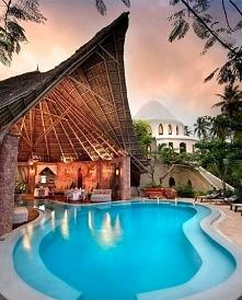 Piękne miejsce na Zanzibarz...