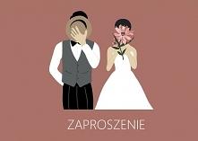 Zaproszenie ślubne - autors...