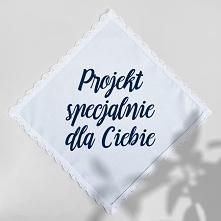 chusteczka z drukowanym dowolnym tekstem