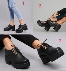 Mi osobiście podobają sie najbardziej buty pod numerem 3. A jakie wam sie podobają?