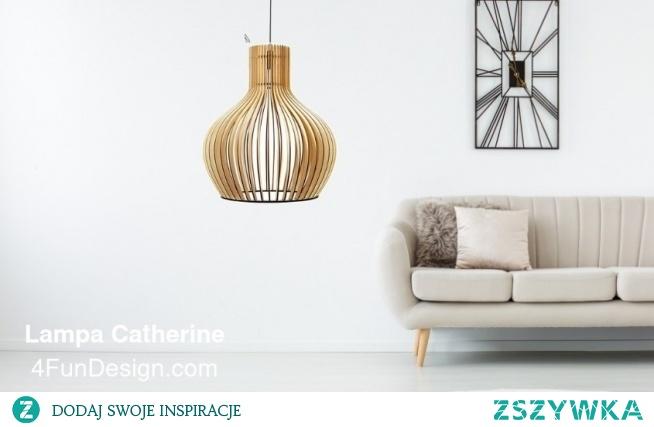 Lampa wisząca Catherina. Znajdziesz ją wpisując w przeglądarkę 4fd.pl
