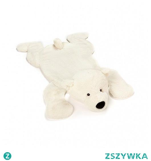 Mata do Zabawy Maskotka Dywan Miś Polarny 85 cm