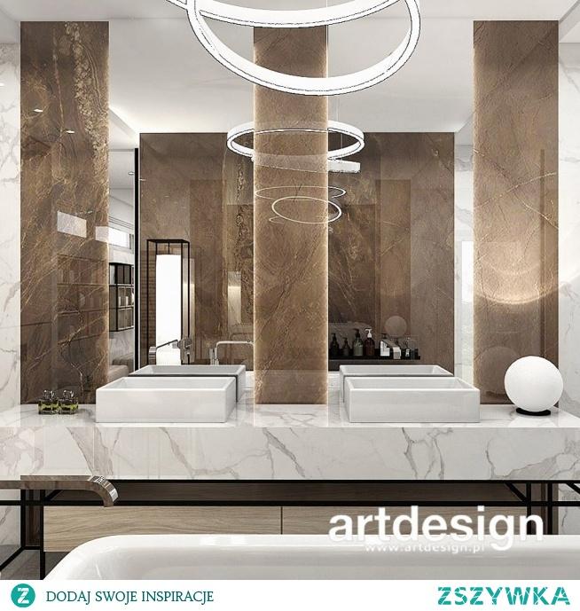 Designerska łazienka   PERFECT MATCH   Wnętrza domu