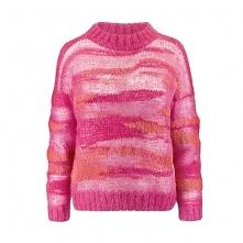 Sweter ażurowy z moheru i j...