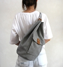 worek plecak - grey&bro...