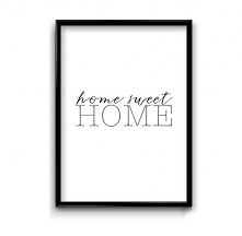 Home sweet home- plakat