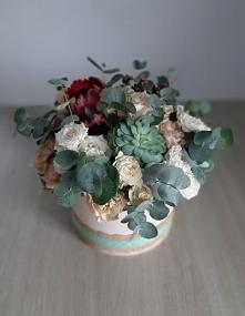 Kwiaty w pudełku, flower box