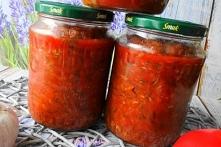 Cukinia w Sosie Pomidorowym...