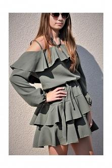 letnia sukienka hiszpanka :...
