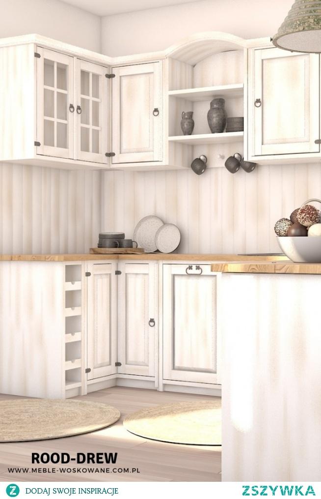 Kuchnie w stylu rustykalnym, prowansalski