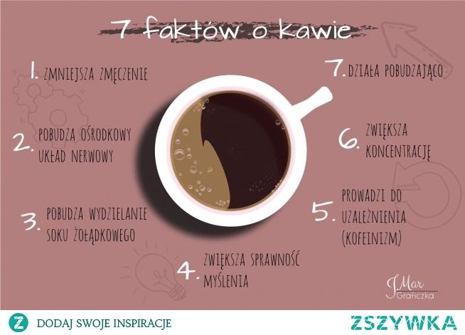 Infografika o kawie. kto lubi kawę? ;)