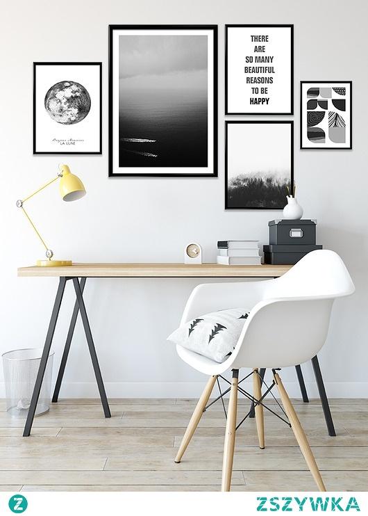 Czarno biały #2 - zestaw plakatów