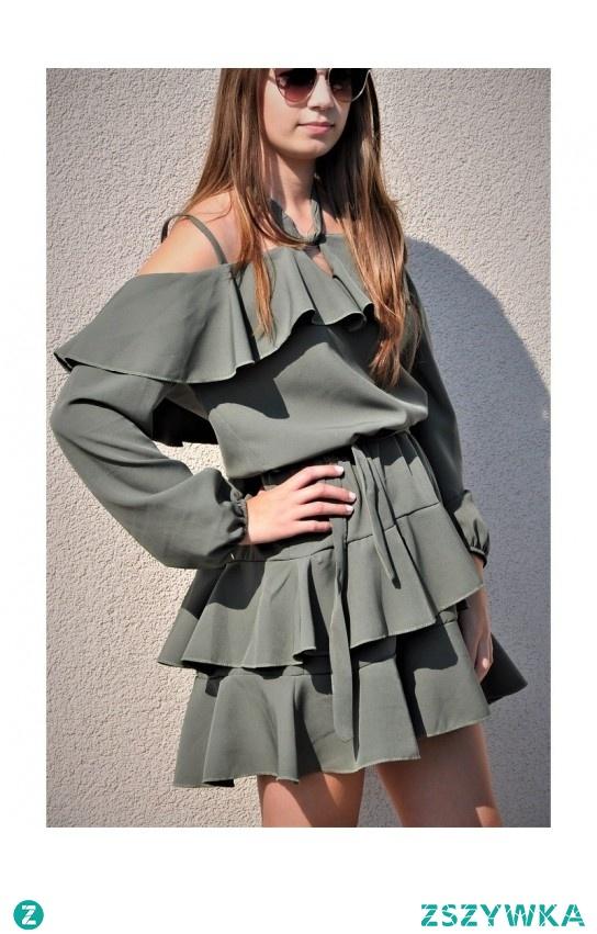 letnia sukienka hiszpanka :) butik.pl
