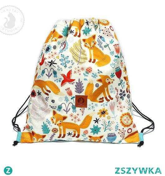 Plecak-worek Liski z miętą