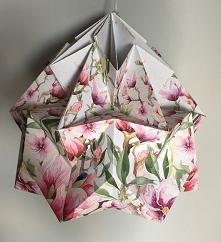 Abażur klosz Origami origam...