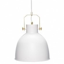 LAMPA WISZĄCA METALOWA ARCTIC - HUBSCH Lampa uniwersalna, będzie pasować do w...