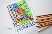 Letnie kolorowanki Pop Art ...