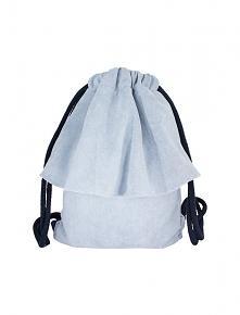 Plecak błękitna falbanka