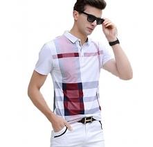 Klasyczna koszulka polo w wersji w kolorową, nieregularną kratę - kliknij w zdjęcie i zobacz, gdzie można ją kupić.