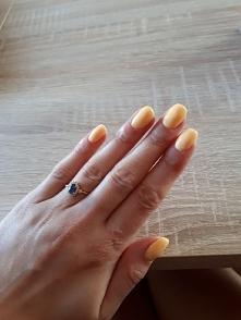 manicure tytanowy * żółte j...