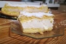 Ciasto z masą z serków Danio