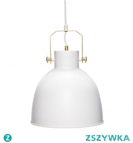 LAMPA WISZĄCA METALOWA ARCTIC - HUBSCH Lampa uniwersalna, będzie pasować do wnętrz w prawie każdym stylu, a zwłaszcza projektowanych w stylu skandynawskim.