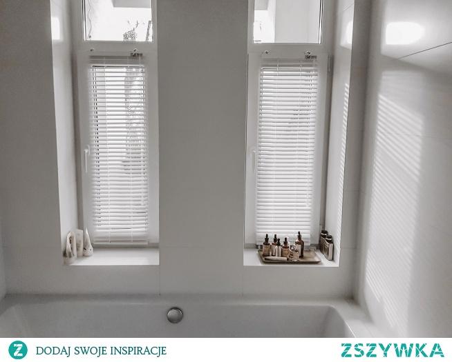 Żaluzje aluminiowe świetnie sprawdzą się w łazience - są 100% odporne na wilgoć :)