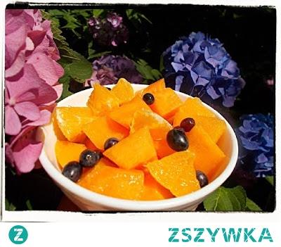 Sałatka z melona - Cantaluope Melon Salad Recipe - Macedonia di melone