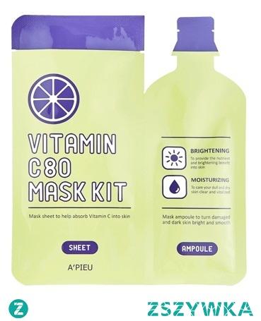 maska w płachcie z Azji z witaminą C - szczegóły po kliknięciu