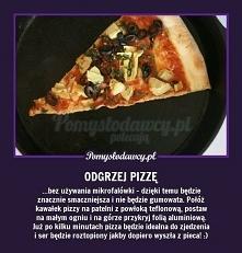 odgrzej pizze