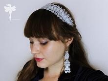 Część kochani >!< Na moim blogu trwa włosowa seria Diy :) Tym razem zrobiłam komplet opaskę i kolczyki :)