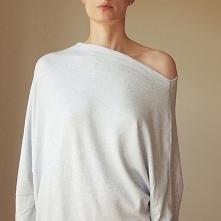 Asymetryczny Sweterek trape...