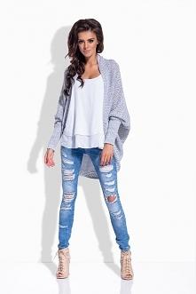 LS170 Melanżowy sweterek na...