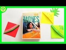 Owocowe zakładki do książki...