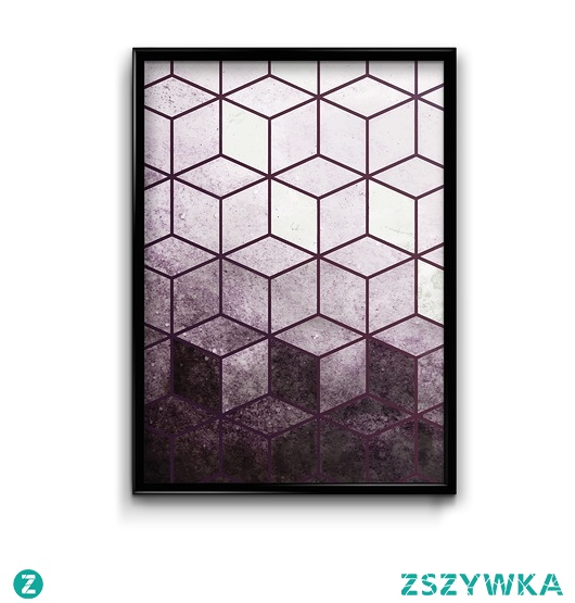 Mozaika bordo - plakat 2019