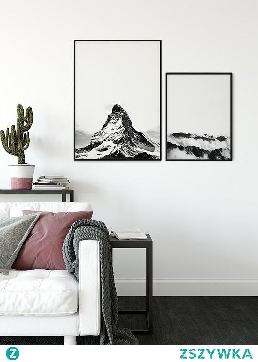 Zestaw plakatów - Black&White