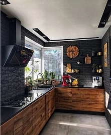 Czarna kuchnia