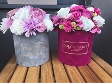 Flower box'y ze sztucznymi ...
