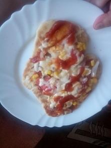 pizza z blachy