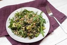 Sałatka z brokułami i kaszą