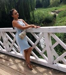 sukienka River Island oraz torebka