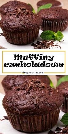 Muffiny czekoladowe w najle...