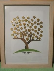 Drzewko szczęścia dla Pary Młodej
