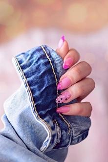 French manicure w wersji le...