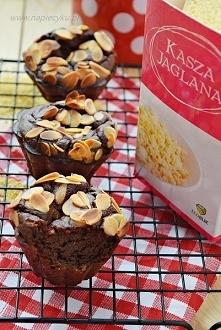 Jaglane muffiny brownie