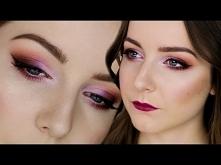 Makijaż - ocieplony fiolet ...