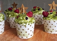 Szpinakowe muffiny