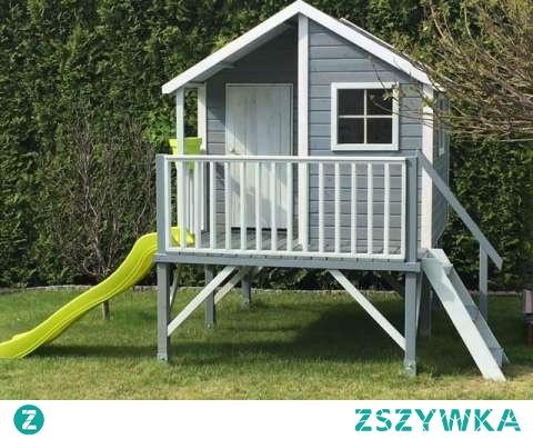 Domek ogrodowy dla dzieci Jurek. Bezpieczny i solidny domek, który da masę frajdy dla dzieci i chwilę wytchnienia dla rodziców. Podaruj dziecku swoje własne miejsce o które będzie dbało.