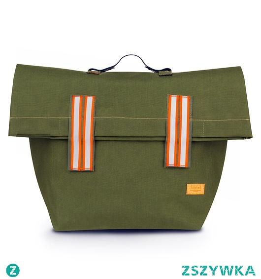 Plecak z gumowanego worka wojskowego