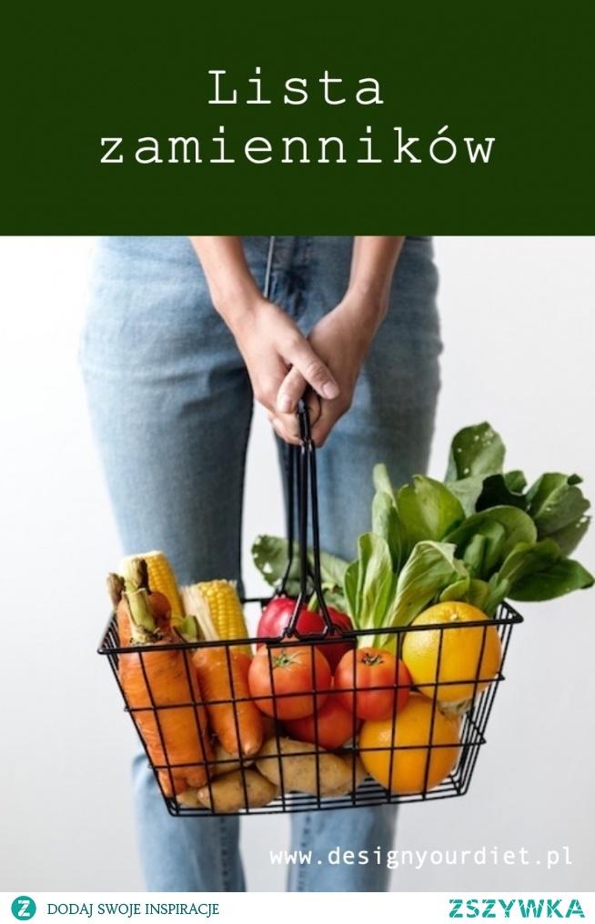 Dopasuj gotową dietę do swoich potrzeb. Sprawdź listę zamienników na blogu. Link znajdziesz w komentarzu.